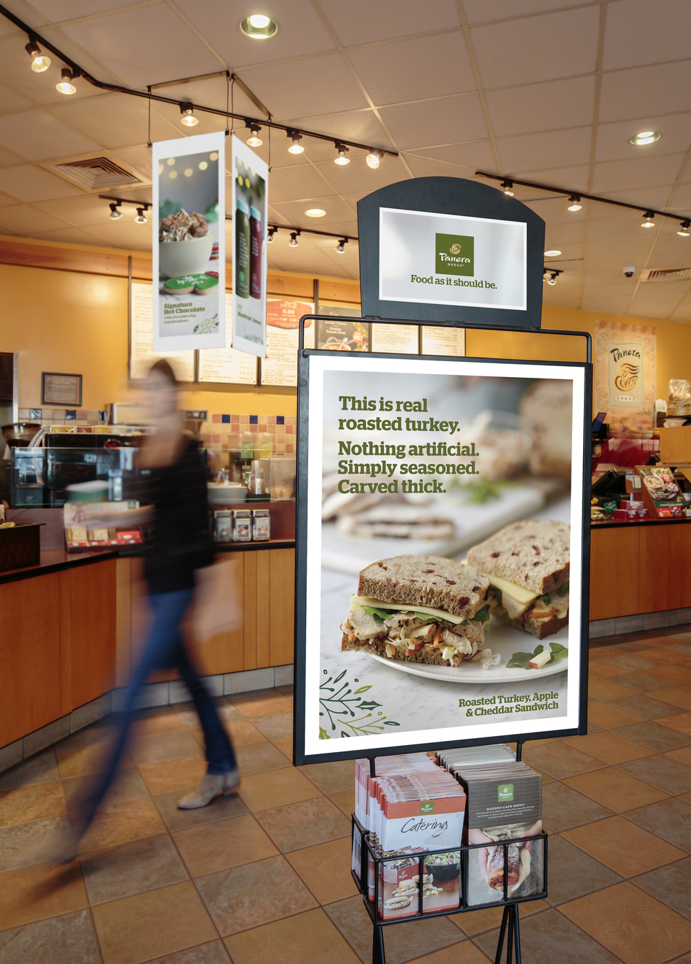 Panera Bread Seasonal Graphics