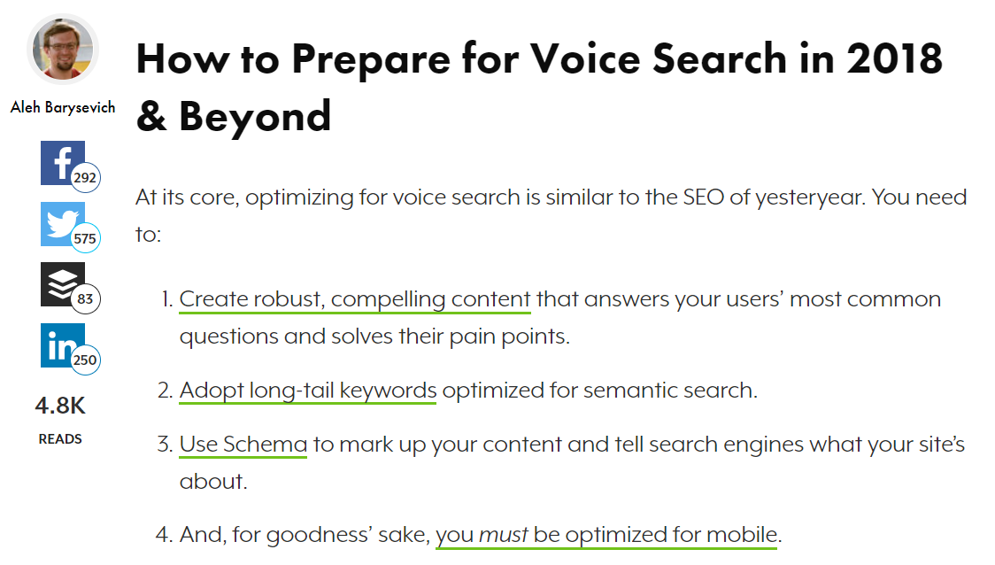 search engine journal voice search