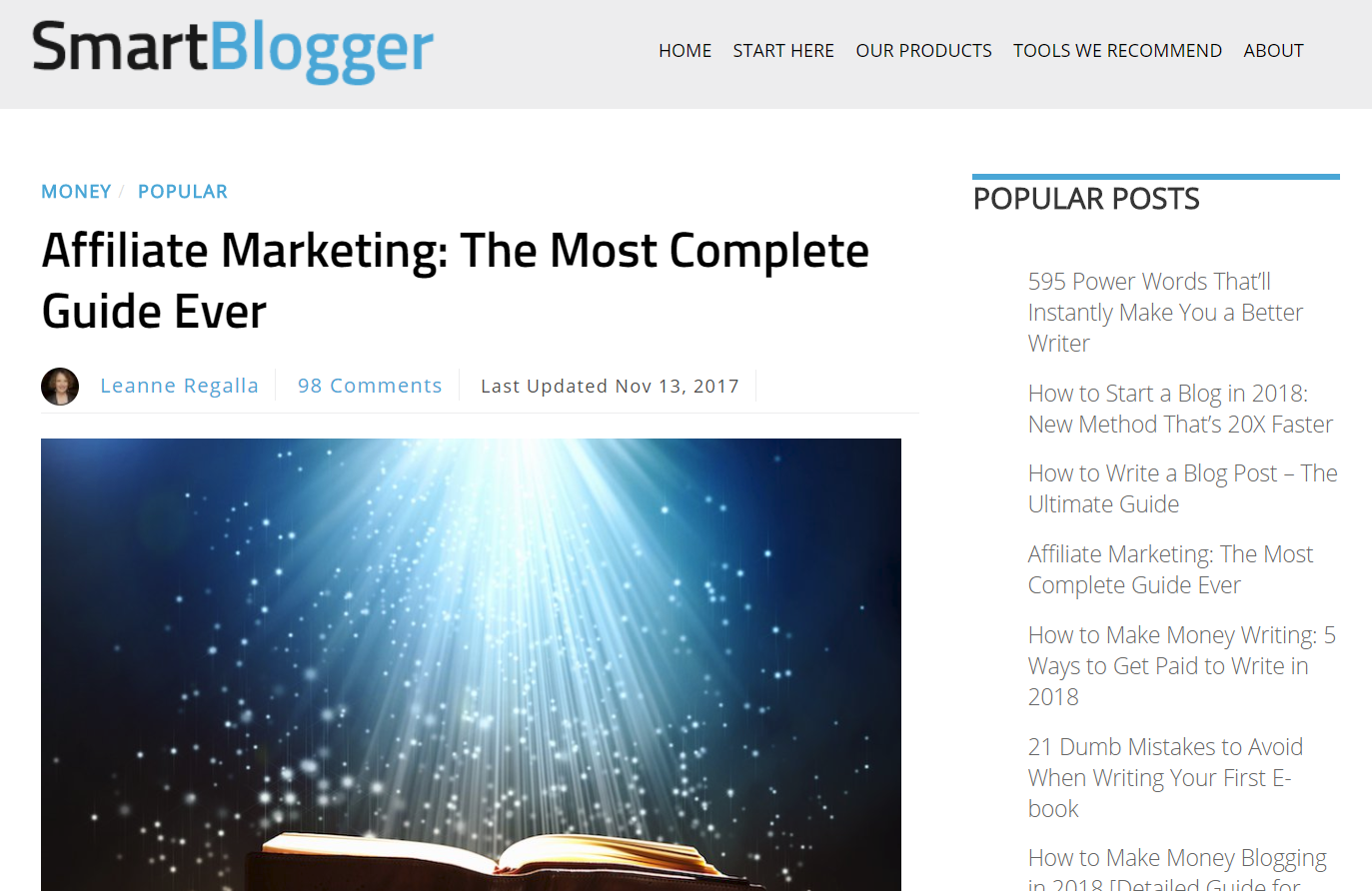 smartblogger-blog-example