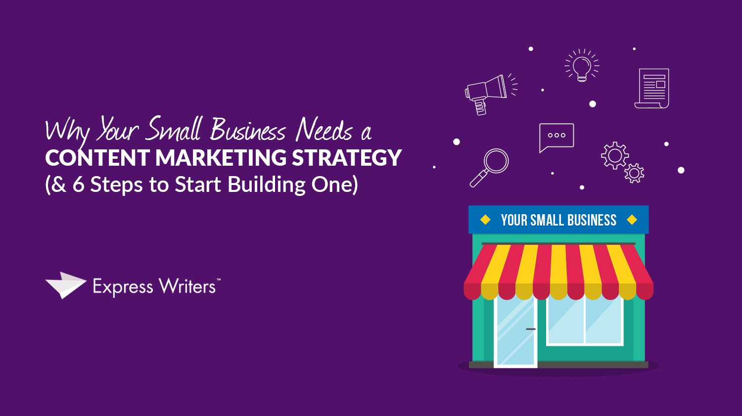 small business content marketing strategy