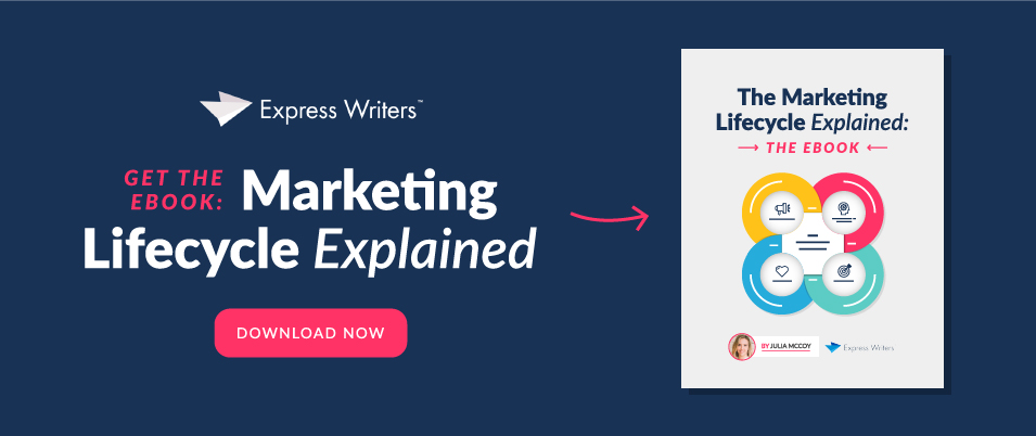 ebook marketing lifecycle explained