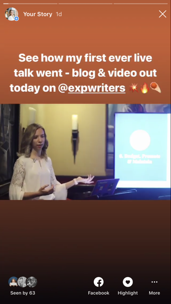 instagram story 3