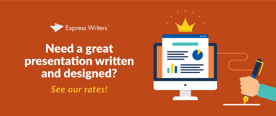 slide content express writers