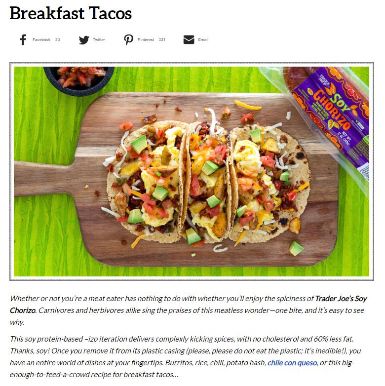 trader joes breakfast tacos