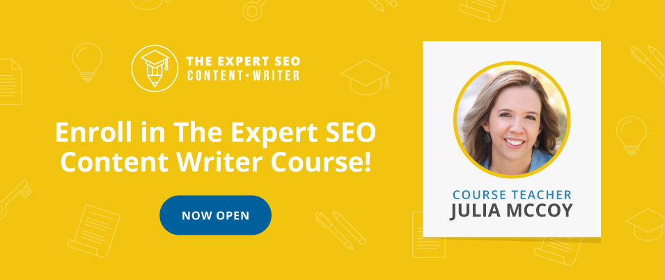 seo writing course