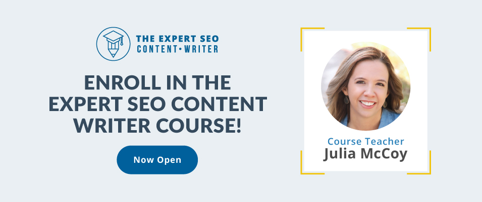 expert content writer course