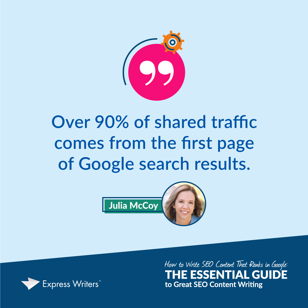 shared Google traffic quote