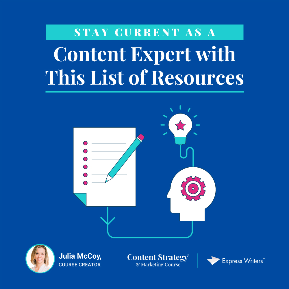 how to stay current as a content expert
