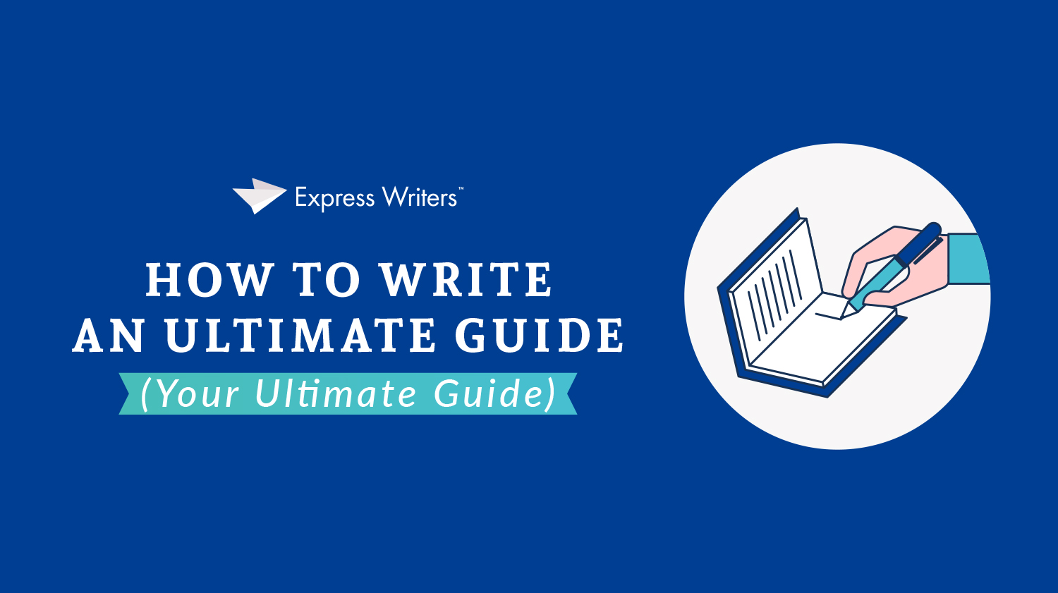infographic blog how to write an ultimate guide