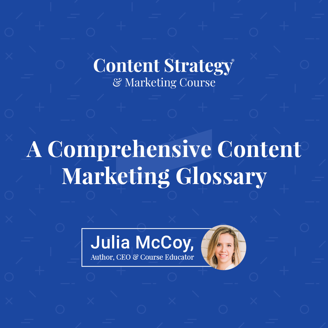 content marketing glossary cta