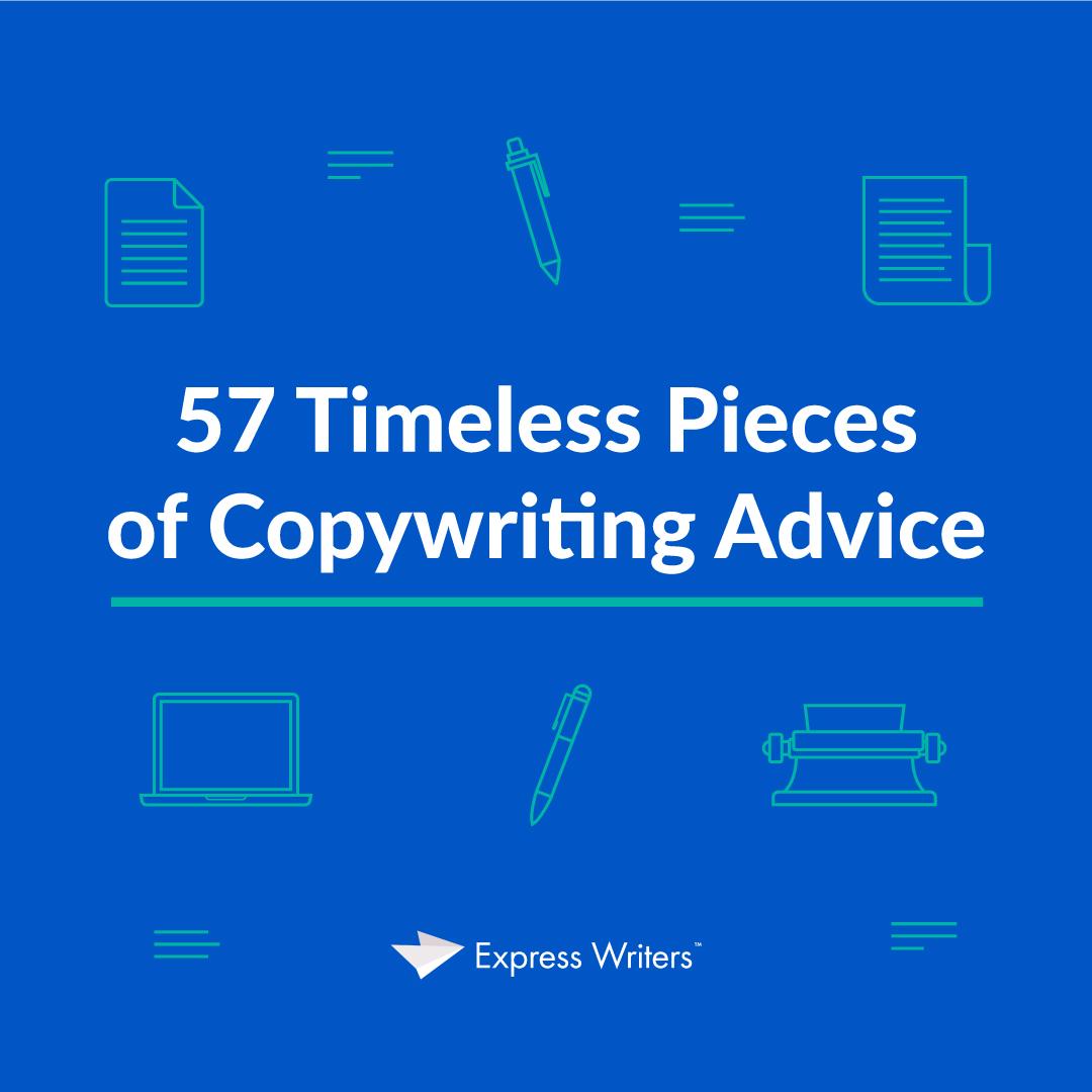 57 pieces of copywriting advice