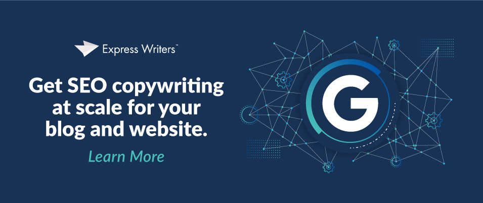 google core update writing services
