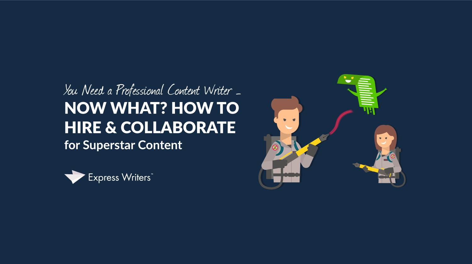 professional content writer guide