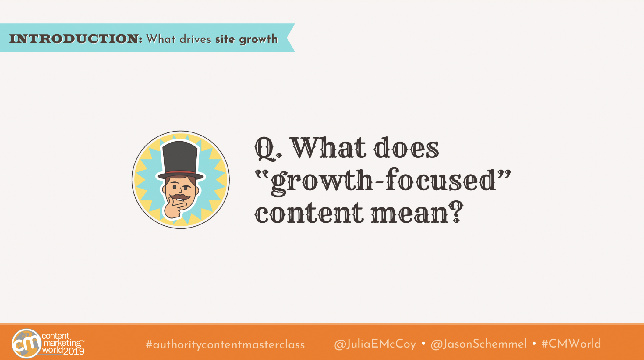 growth focused content