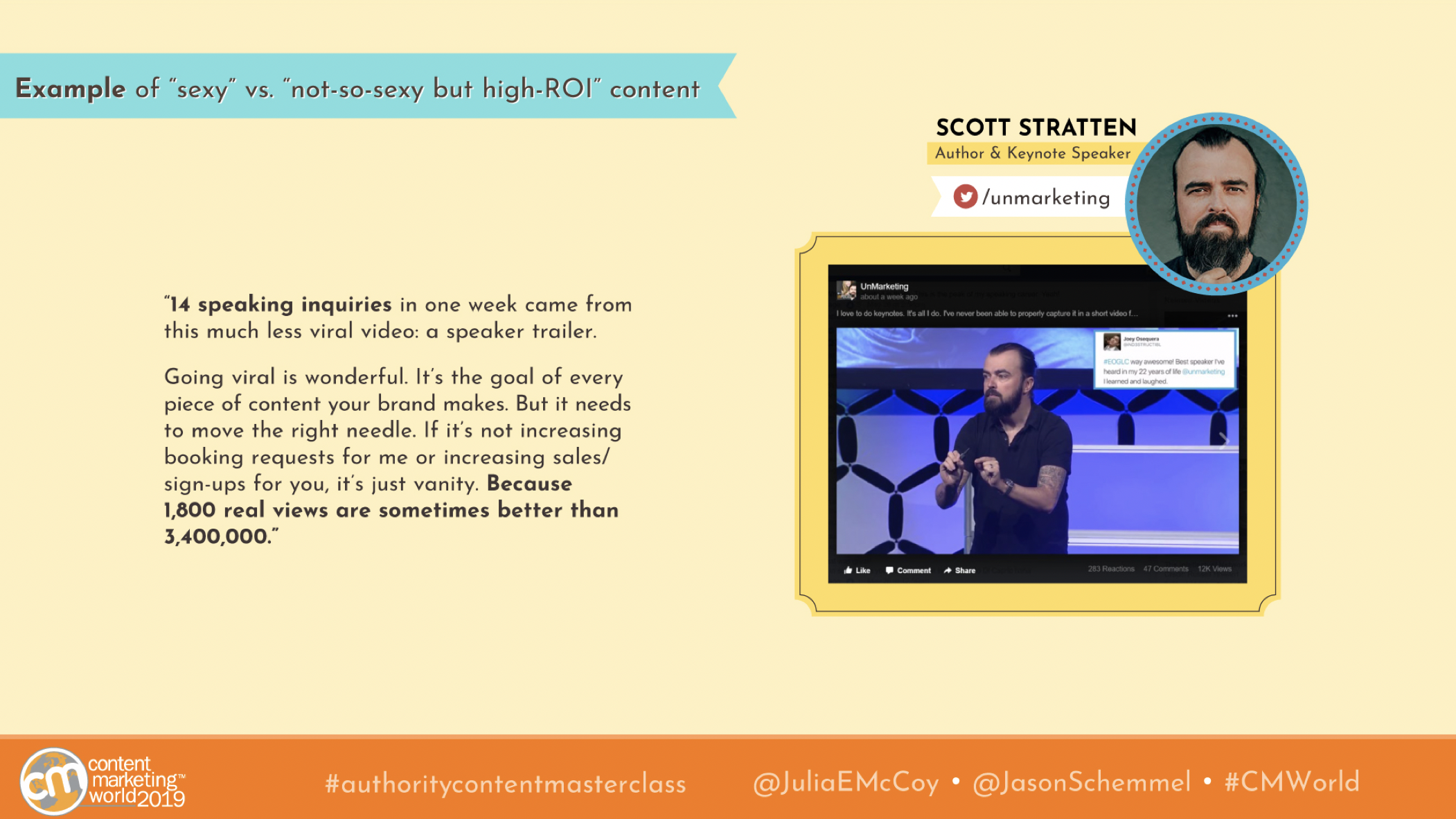 scott stratten cmworld
