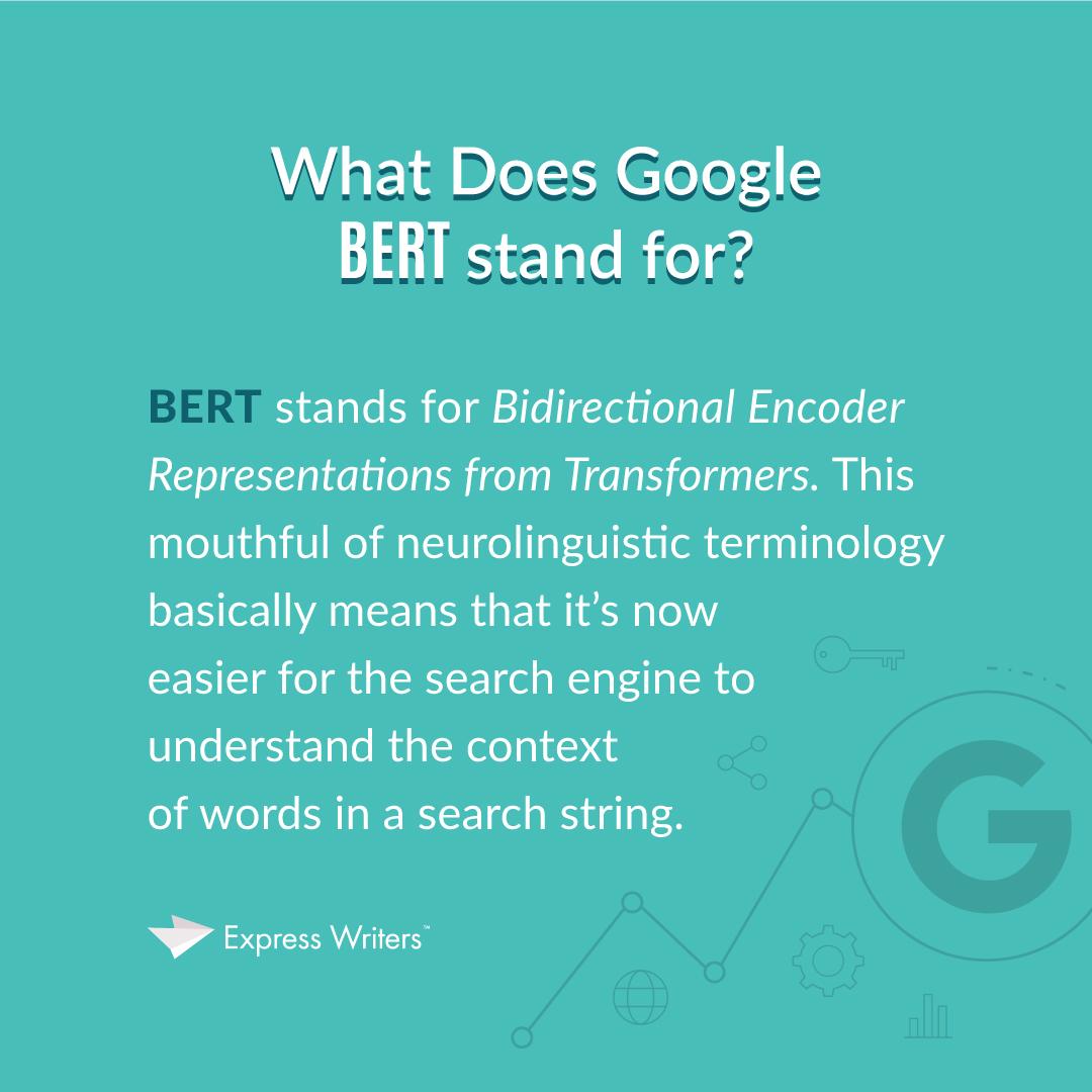 Google BERT meaning