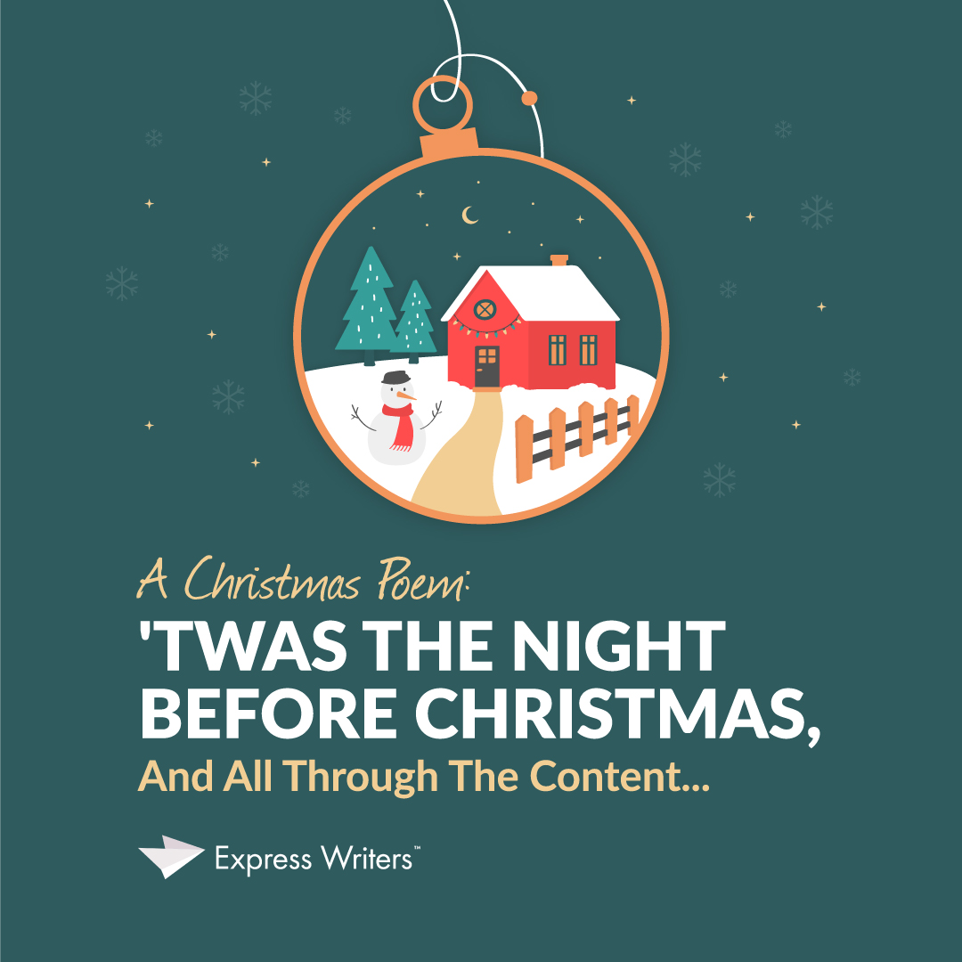 christmas poem content marketing