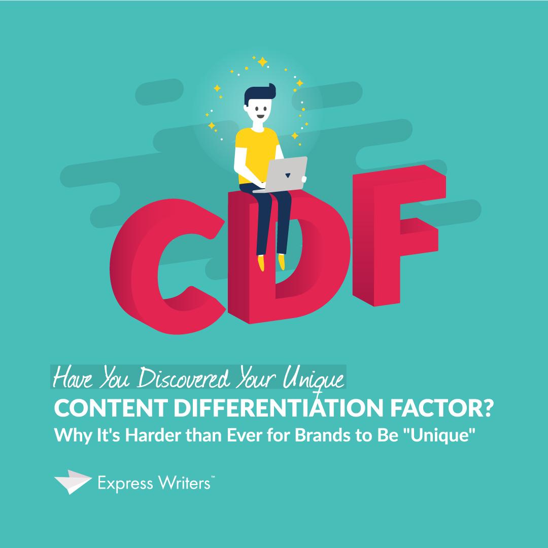 unique content differentiation factor