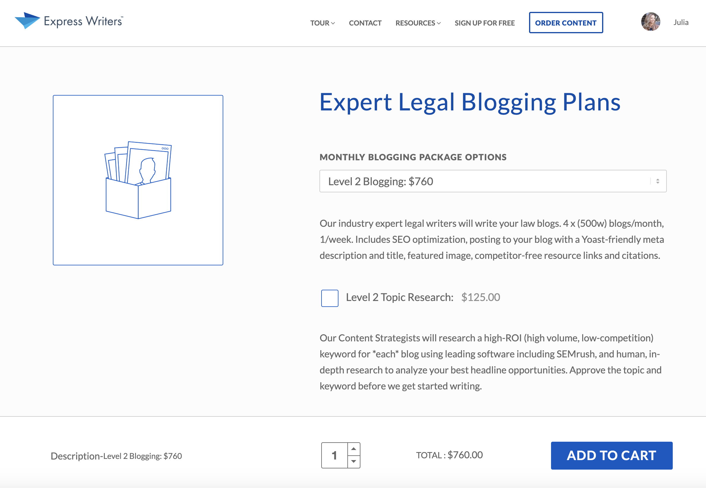 expert legal blog plans express writers