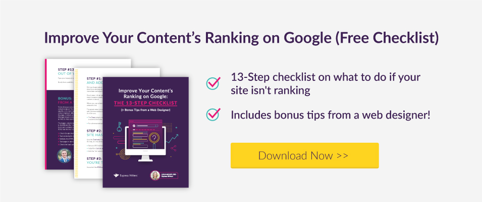 what to do if your content doesnt rank in Google free guide