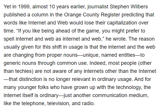 Stephen Wilbers Wired quote