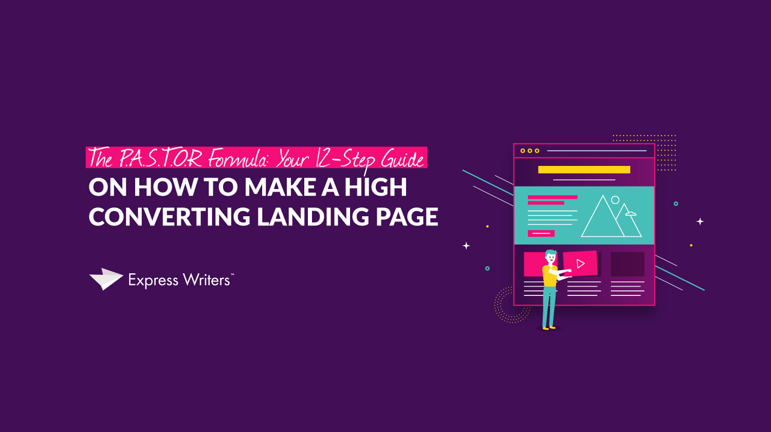 how to make a high converting landing page