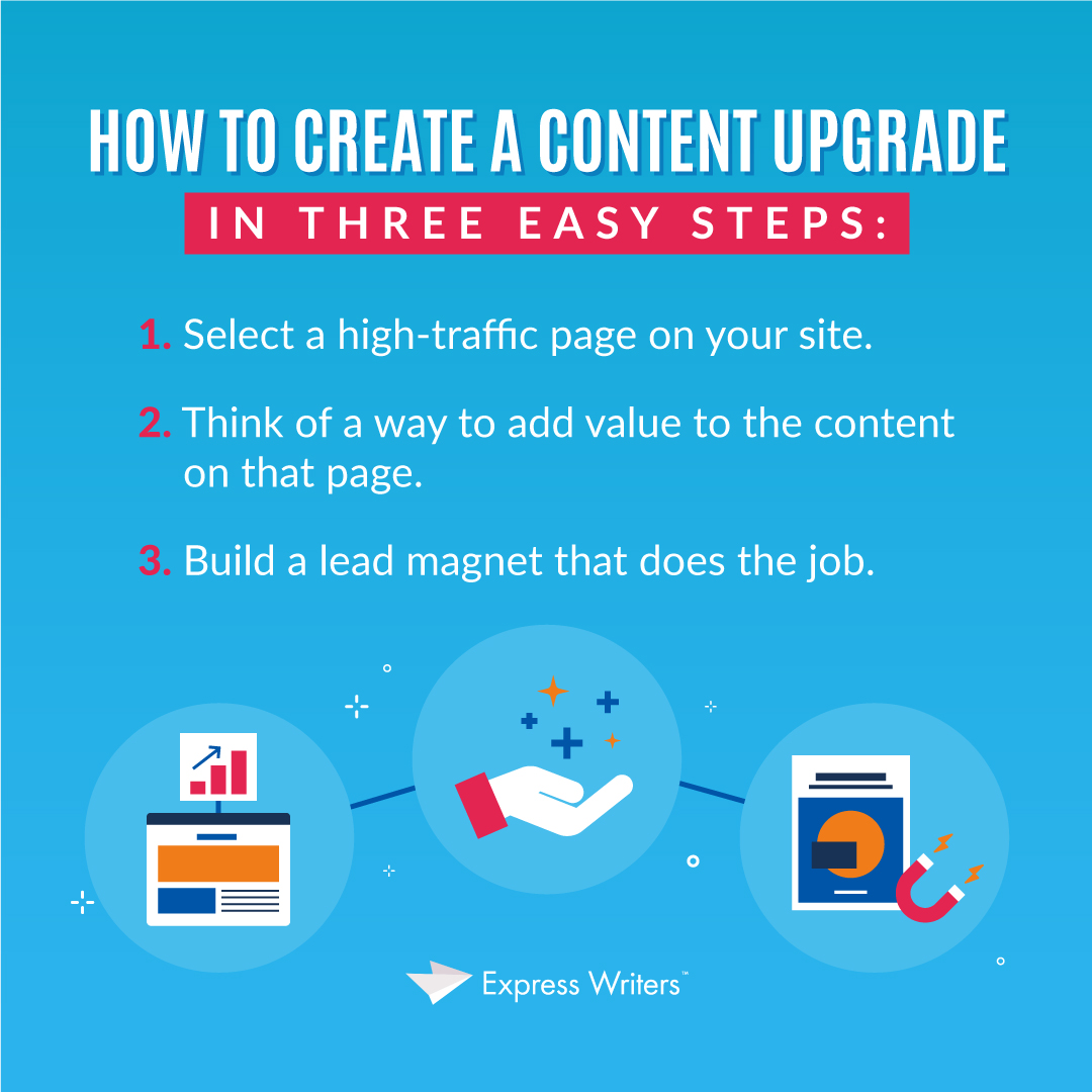 how to create a content upgrade