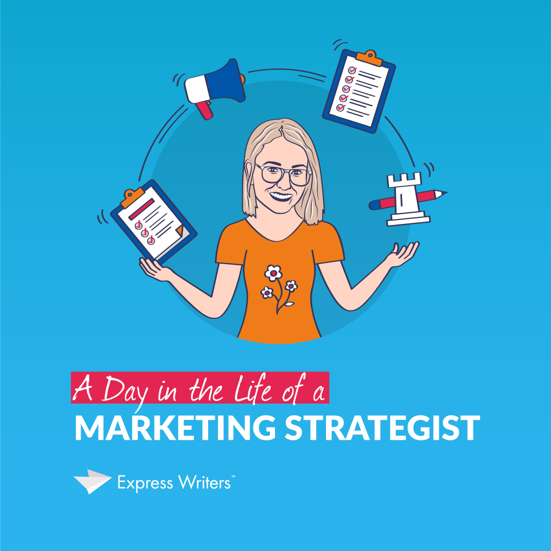 A day in the life of a marketing strategist