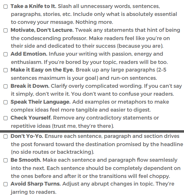 smartblogger lead magnet checklist