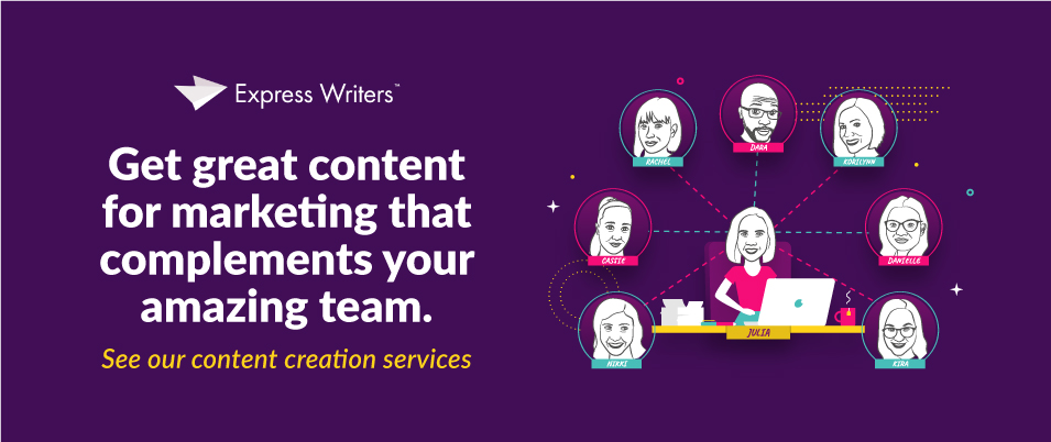 Talk to our great customer service representative about content