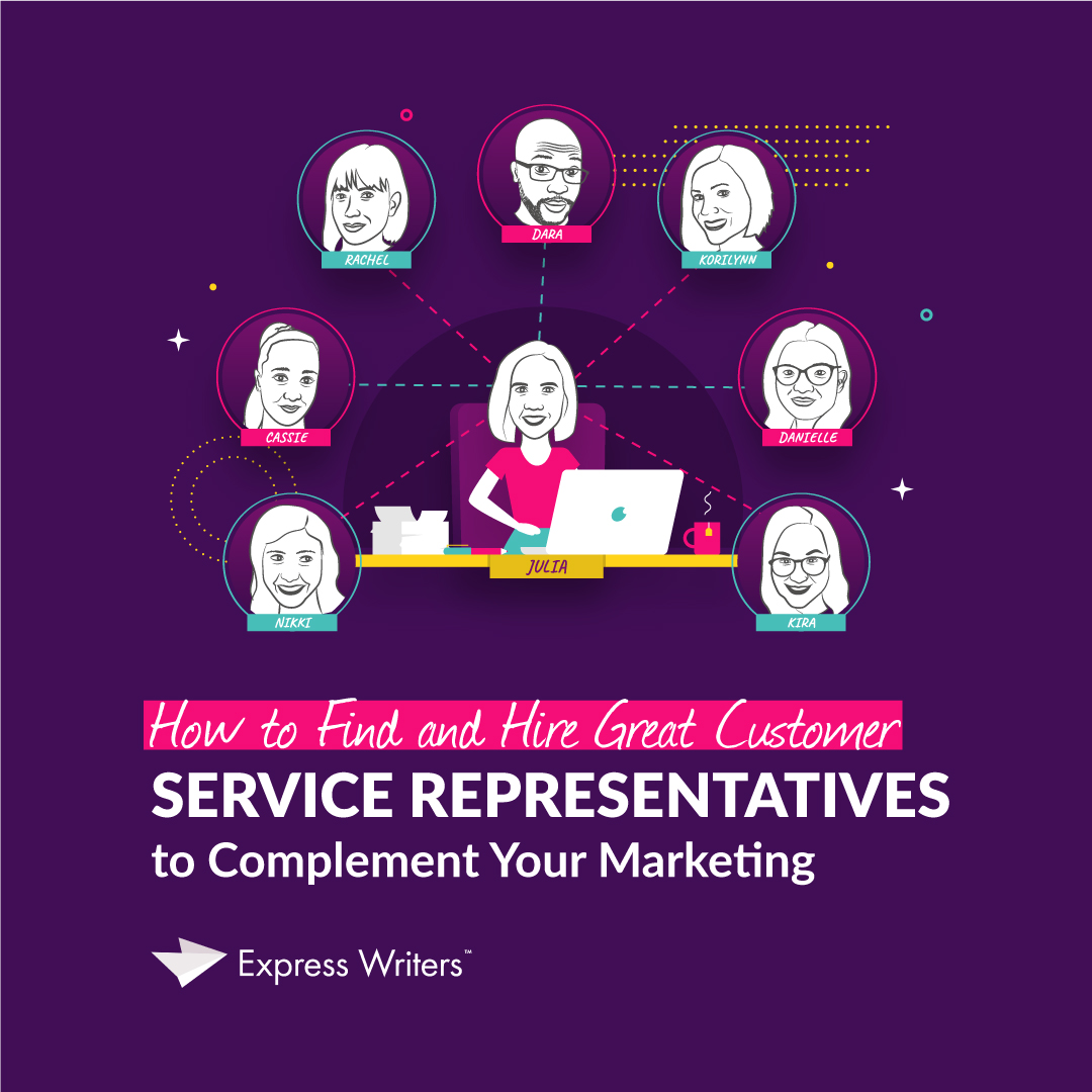 find great customer service representatives