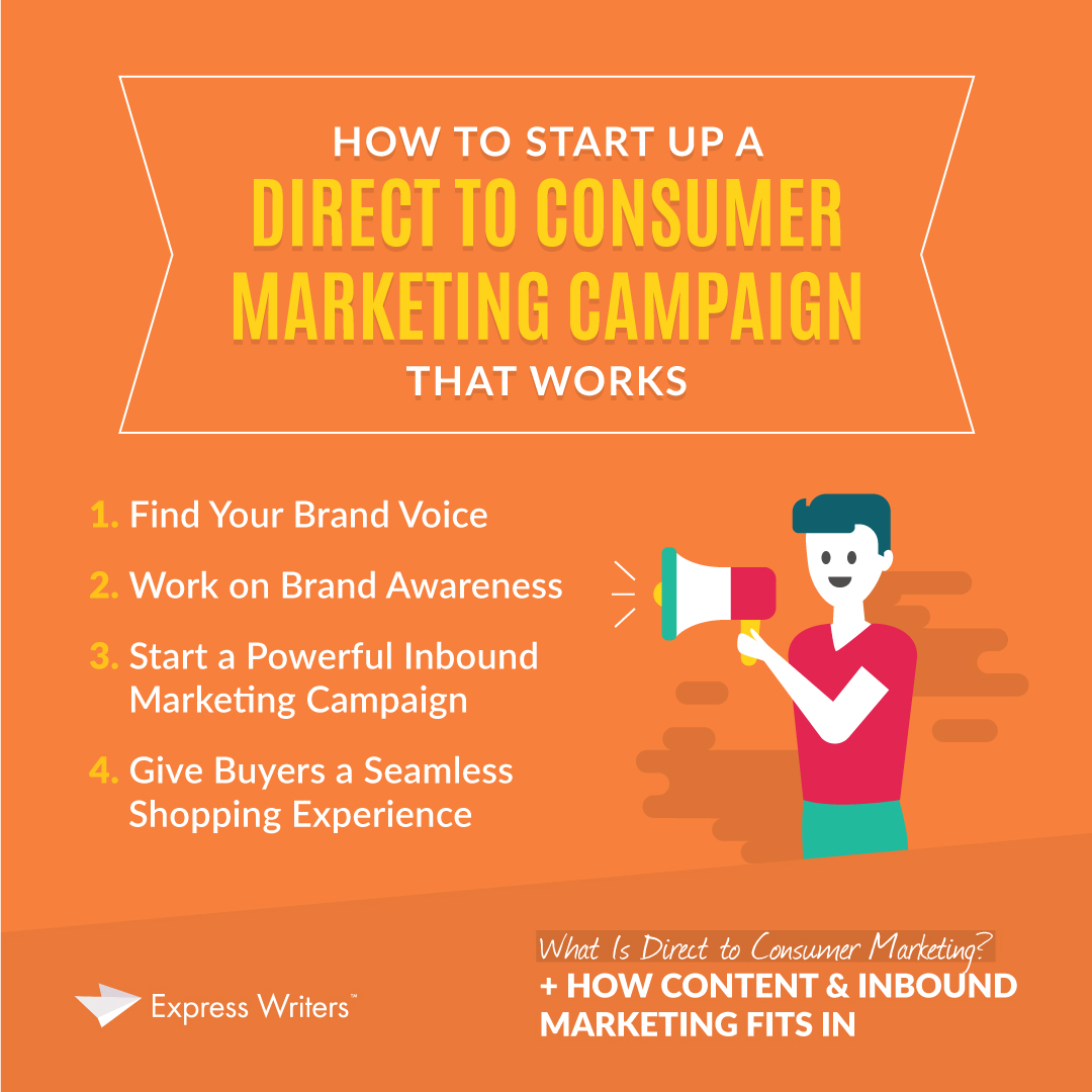what is a D2C marketing campaign
