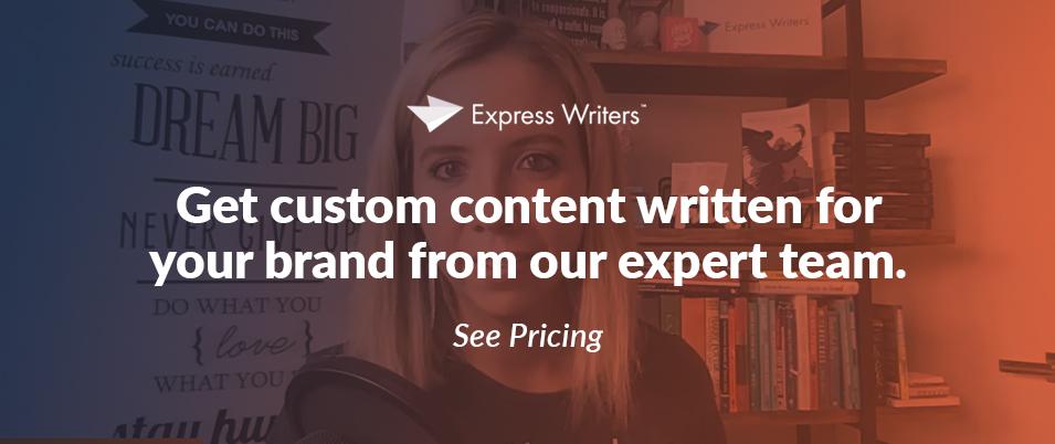 Get custom content
