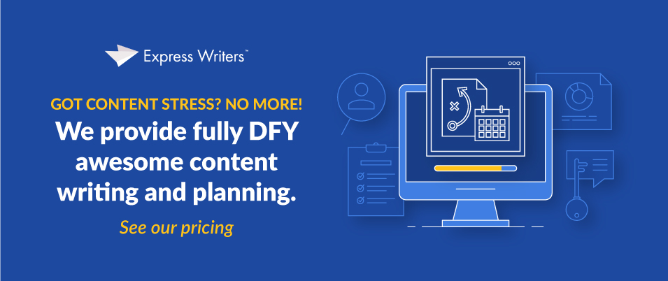 Get DFY content strategy plans