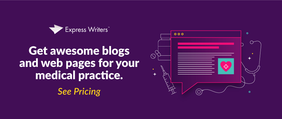 Get medical blog writers for your content