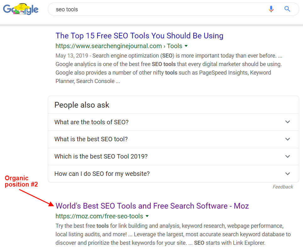 Google Serp - SEO tools