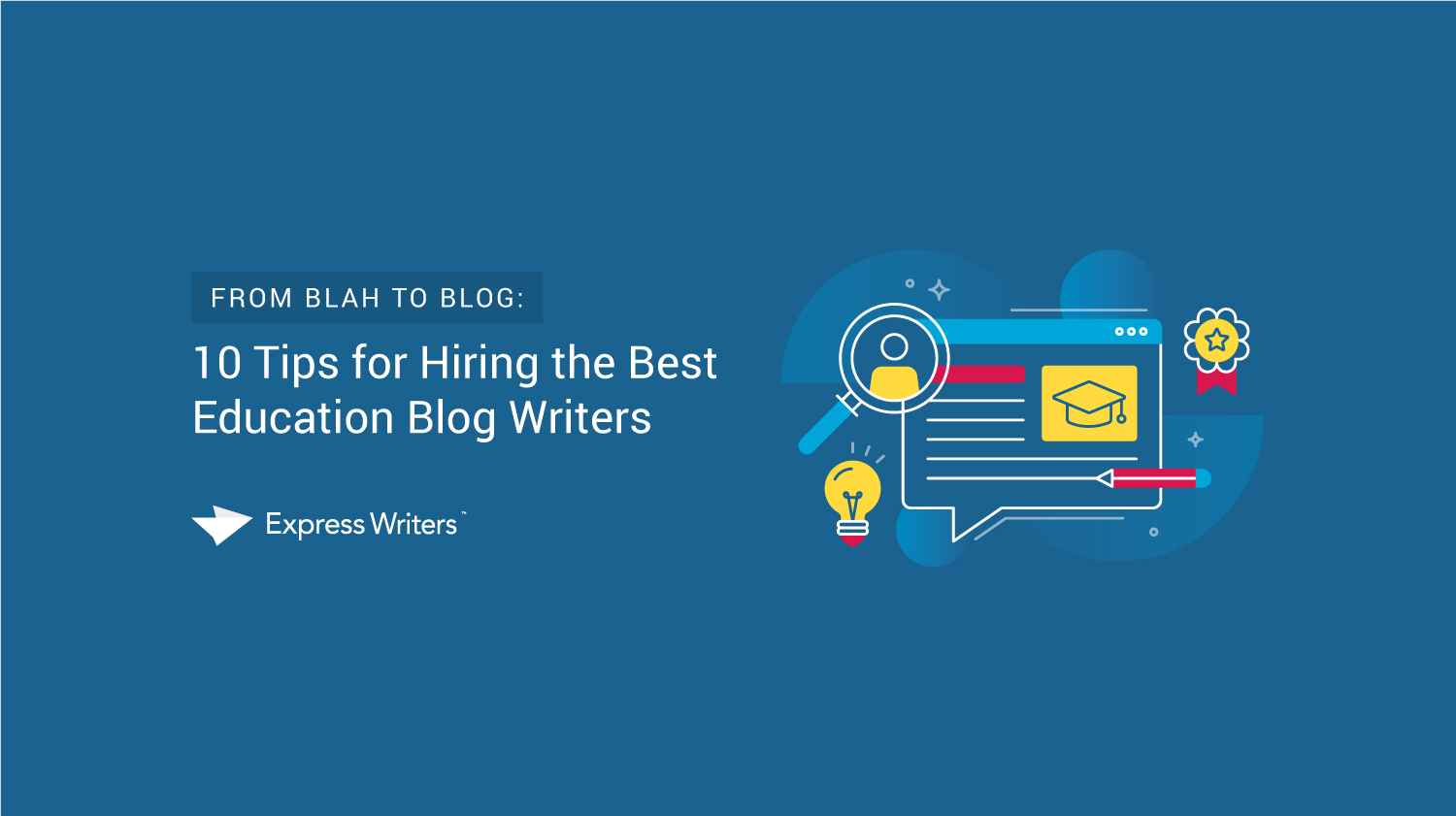 education blog writers
