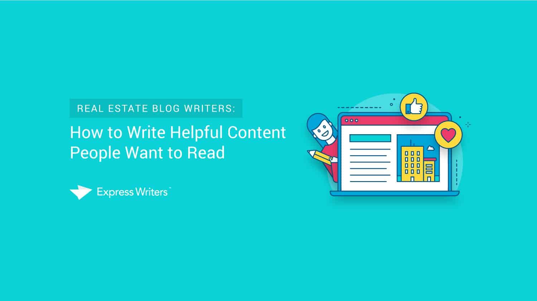 real estate blog writers
