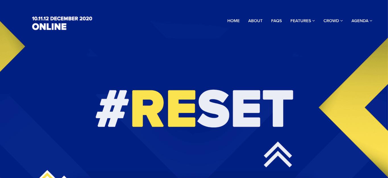 RiseUp Summit #reset