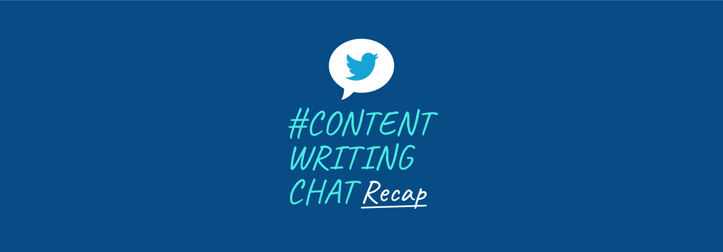 #ContentWritingChat, content marketing in 2021